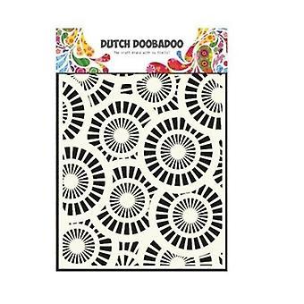 Hollandske Doobadoo A5 maske kunst Stencil - cirkler 470.715.107