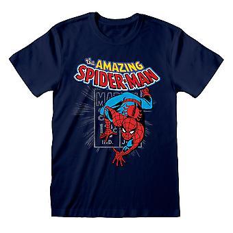 Damski Marvel Comics Boyfriend Fit T Shirt The Amazing Spiderman