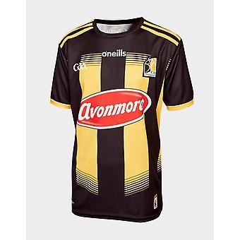 New O'Neills Kids' Kilkenny GAA 2020 Home Shirt Black