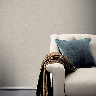 Arthouse County Plain Wallpaper Linen Paste The Wall Heavyweight Taupe 295003