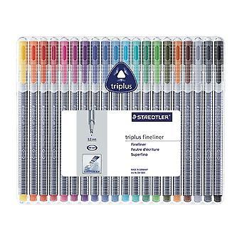 Staedtler Brilliant Colours Triplus Set Of 20