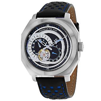 Christian Van Sant Men's Machina Black Dial Uhr - CV0562