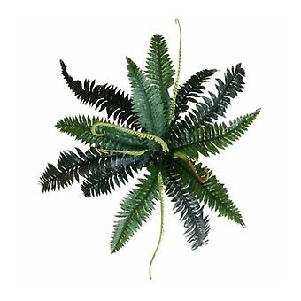 Artificial Dark Green Boston Fern 60 Cm
