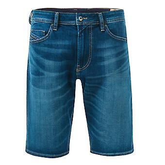 Męskie&s Diesel Denim Tho Szorty w kolorze niebieskim