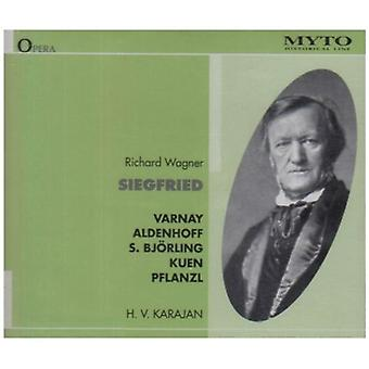 Wagner / Aldenhoff / Varnay / Bjorling / Karajan - Siegfried [CD] USA import