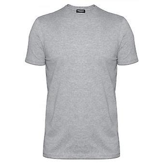 DSQUARED2 Underwear Grey DSQ2 Crew Neck T-Shirt