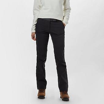 Brasher Women's Stretch Walking Trousers Black