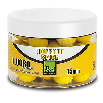 R Hutchinson Fluoro Pop Ups 15mm Tigernut Spice Natural