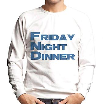 Friday Night Dinner Logo Men's Sweatshirt