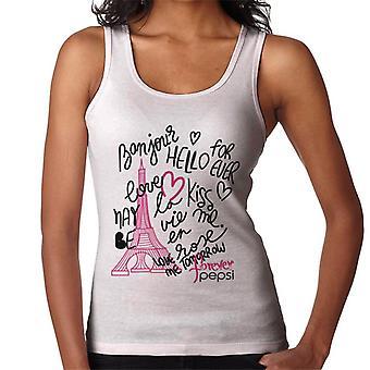 Pepsi Paris Love Women's Vest