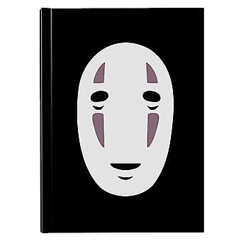 No Face Mask Studio Ghibli Spirited Away Hardback Journal