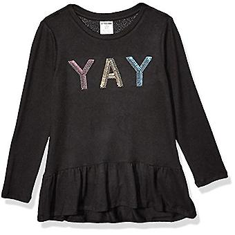 Brand - Spotted Zebra Girl's Long-Sleeve Cozy Tunic Tops, YAY, Medium ...