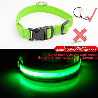 Usb Charging Anti Lost Led Dog, Puppies Collar & Lead At Night - Éviter la voiture