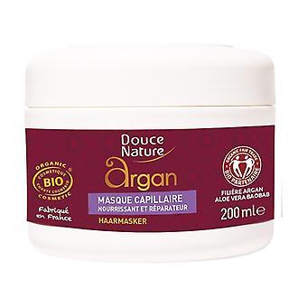 Organic hair mask 200 ml of cream