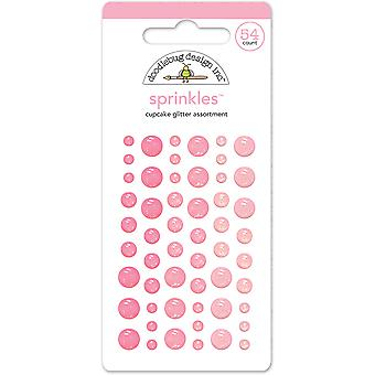 Doodlebug Design Cupcake Glitter Sprinkles (54pcs) (4533)