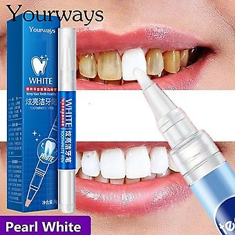 Magic Natural Teeth Whitening Gel Pen - Soins buccodentaires Enlever les taches Dent Cleaning Teeth Whitener Tools