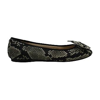 Circus by Sam Edelman Womens Ciera Faux Leather Bow Ballet Flats