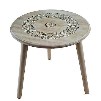 Madera de mesa alrededor de H 40 cm