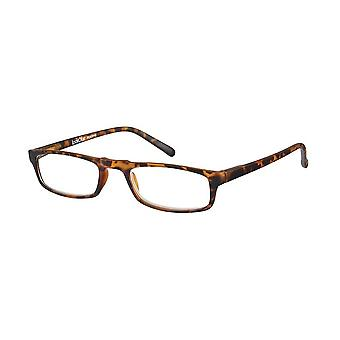 Reading Glasses Unisex Le-0183B Animo Brown Strength +1.00