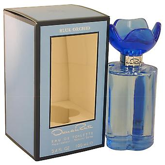 Oscar blue orchid eau de toilette spray by oscar de la renta 539013 100 ml
