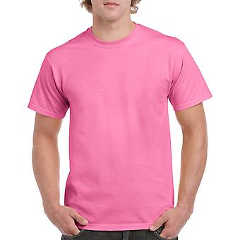 Gildan G5000 Plain Heavy Cotton T Shirt in Azalea