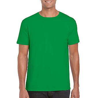 GILDAN G64000 Softstyle Men's T-Shirt in Irish Green
