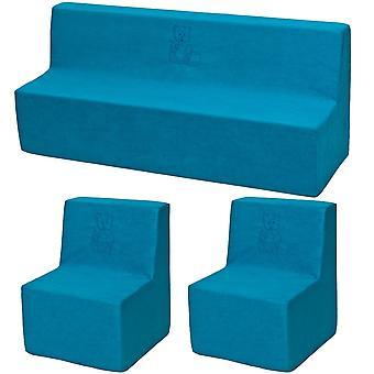 Peuter meubelset uitgebreid blauw