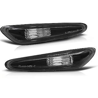 Sido blinkande lampor BMW E60 / E61 / E46 / X3 SVART