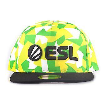 ESL Logo with All-Over Pattern E-Sports Baseball Cap Multi-colour (SB112802ESL)