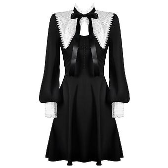 Dark In Love Gothic Lolita Ribbon Dress