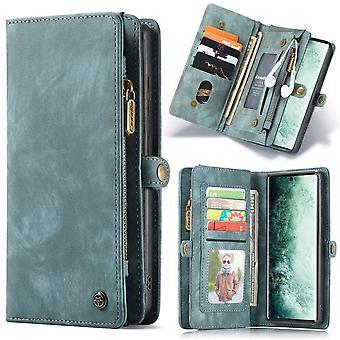 CASEME Samsung Galaxy Note 20 Ultra Retro Lederen Portemonnee Hoesje