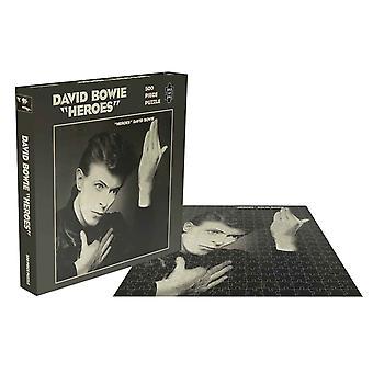 David Bowie Jigsaw Puzzel Helden Album Cover nieuwe officiële 500 Stuk