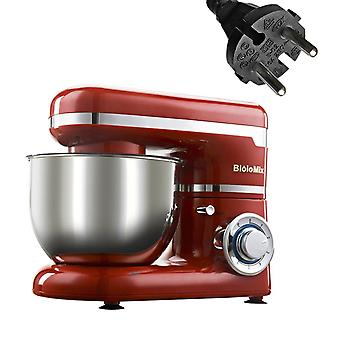 1200w 4l Stainless Steel Bowl Kitchen Food Stand Mixer- Whisk Blender Maker