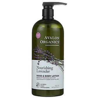 Avalon Organics Hand und Body Lotion, Lavendel, 32 Oz