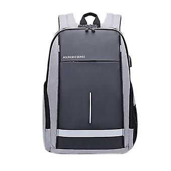 Men's Casual Usb Business Computer Mochila (46x17x29cm)