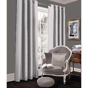 Room Darkening Blackout Curtain Set Eyelet Ring Top