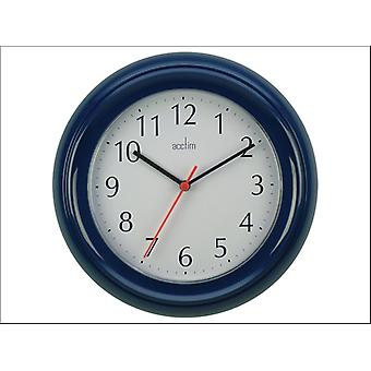 Acctim Wycombe Wall Clock Blue 21419
