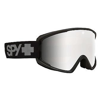 Spy Crusher Elite Goggles - Matte Grey / Bronze / Silver Spectra Mirror