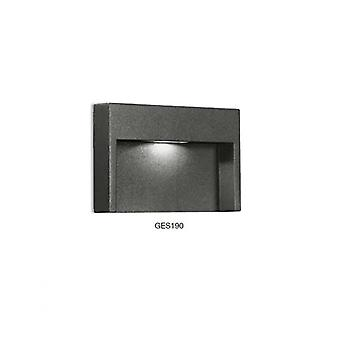 Anthracite Outdoor Step Light