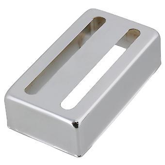 6.8x3.8x1.8cm Métal Cuivre-nickel Alliage Couvercle Ouvert Pickups Cover Chrome Couleur