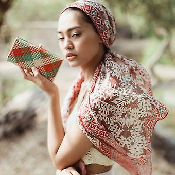 Silkki batik huivi