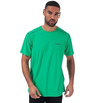 Men's Berghaus 24 7 Tech Base Crew T-Shirt in Green