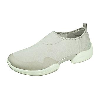 Skechers Skech Lab Can't Stop Womens Slip on Trainers - Taupe