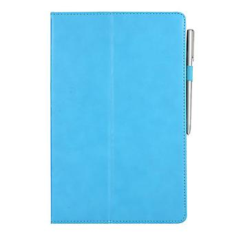 Leather Anti-fall case for Samsung Galaxy Tab A 10.5 T510 T515 Light blue