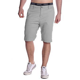 Mens Bermuda short Chino Shorts Chinoshorts stretch checkered hem summer