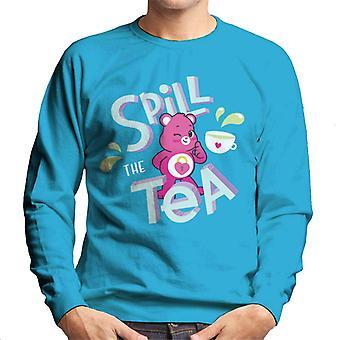 Care Bears Unlock The Magic Spill The Tea Men's Sweatshirt
