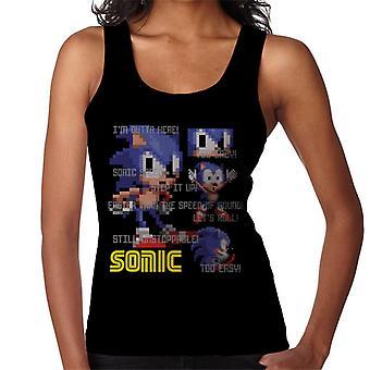 Sonic The Hedgehog alltför lätt snabbare än hastigheten på Ljud Kvinnor & apos; s Vest