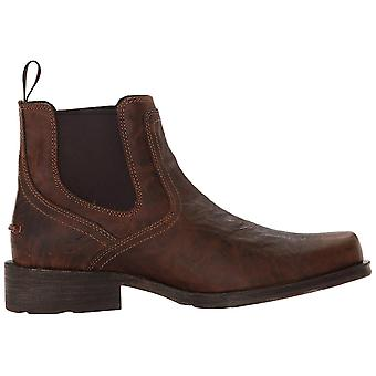 Ariat Mens Midtown Rambler Leather Closed Toe Mid-Calf Western Boots