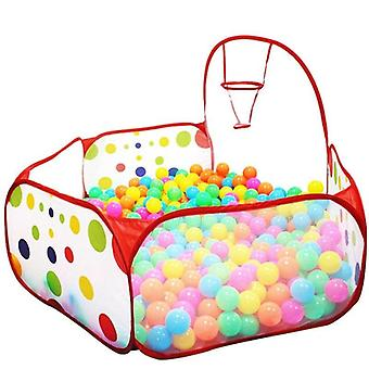 Tent Ball Pool With Basket Outdoor