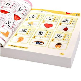 Look At The Picture Literacy Chinese Characters Notes - Early Education Card